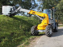 Wheel loader / telescopic / swivel