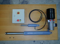 Hydraulic conversion kit / for dock levelers