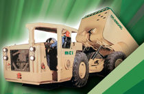 Articulated dump truck / diesel / for underground mining