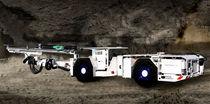 Blasthole drilling rig / wheel-mounted / rotary / for underground mining