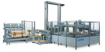 Low level infeed palletizer / case / tray / high-speed