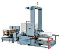 Low level infeed palletizer / for heavy loads / for boxes / modular