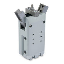 Pneumatic gripper / 180° angular / 2-jaw / high clamping force
