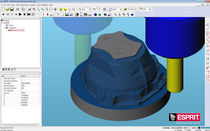 Machining programming software / for bottom-up roughing