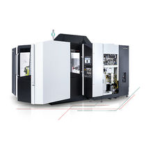 5-axis machining center / horizontal / rotating table / high-speed