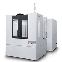 3-axis machining center / horizontal / rotating table / high-precision