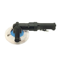 Handheld sander-polisher / pneumatic / angle