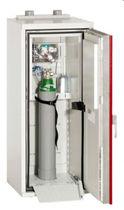Storage cabinet / hinged door / floor-standing / sheet steel