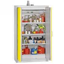 Storage cabinet / floor-mounted / hazardous goods