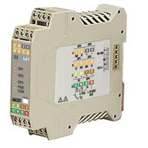 Digital temperature controller / programmable / configurable / DIN rail