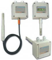 Relative humidity transmitter / duct-mount / wall-mount / resistance