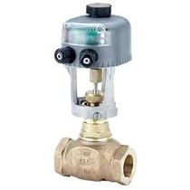 Electrically-operated valve / mixing / for water / threaded