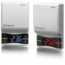 NTC thermostat / with digital display / anti-frost / wall-mounted