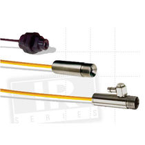 Non-contact temperature sensor / infrared / with thermocouple output