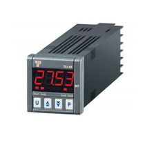 Temperature indicator / digital / panel-mount / for Pt100 probe