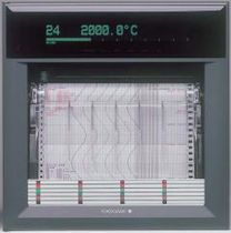 Chart recorder / panel-mount / strip chart / continuous-trace