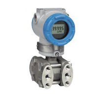 Differential pressure transmitter / capacitive / with display
