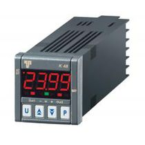 Digital temperature regulator / double LED display / programmable / PID
