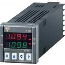 Double LED display temperature regulator / programmable / PID / with independent timer