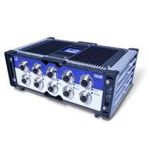 10 ports network switch / PoE / ultra-rugged / PTPv2