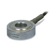 Compression load cell / ring / stainless steel / piezoelectric