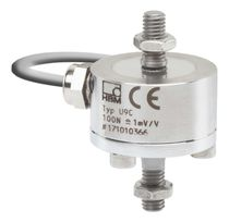 Tension/compression load cell / threaded / stainless steel