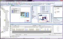 Schematic drawing software / management / simulation / creation