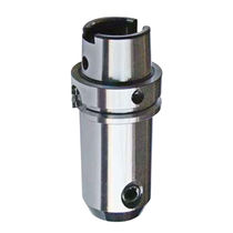 HSK end mill holder / for metalworking