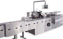 Horizontal cartoner / continuous-motion / for the medical industry / high-speed