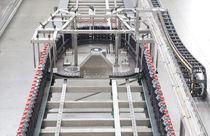 Belt conveyor / for the food industry / for plastic bottles / accumulation