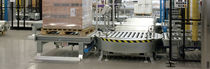 Roller conveyor / roller / for pallets / transport