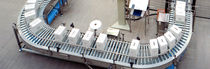 Roller conveyor / carton / transport / horizontal