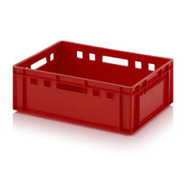Plastic crate / storage / heavy haul / foodstuffs