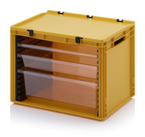 Small parts storage chest of drawers