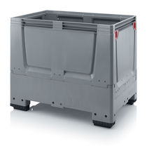 Plastic pallet box / stackable / ventilated