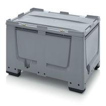 Plastic pallet box / storage / with lid / lockable