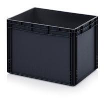 Plastic crate / storage / transport / stackable