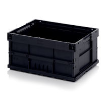 Plastic crate / folding / conductive