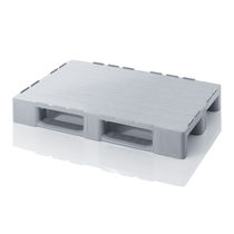 Plastic pallet / Euro / transport / heavy-duty