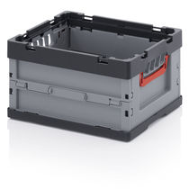 Plastic crate / transport / folding
