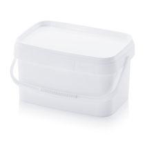 Rectangular pail / plastic