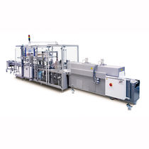 Automatic shrink wrapping machine / with shrink tunnel
