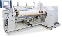 Automatic slitter-rewinder / for paper / for aluminum foil
