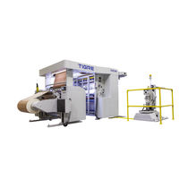 Duplex turret slitter-rewinder / multi-purpose / for paper / for plastic films