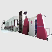 Rotogravure printing machine / multi-color / for labels / for paper