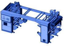 Solvent-free laminating machine