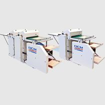 Flexographic printing machine / three-color / for labels / for paper