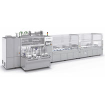 Top-loading cartoner / for the medical industry / automatic / servo-driven