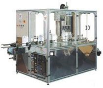Vertical case packer / automatic / for bottles / multi-function