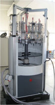 Multi-container filling machine / semi-automatic / rotary / liquid